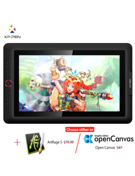 Xp Pen Artist15.6 Pro Drawing Tablet Graphic Monitor Digital Tablet Animation Drawing Board With 60 Degrees Of Tilt Function Art by Ali Express.Com