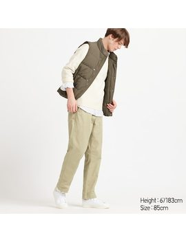 Men Vintage Regular Fit Chino Trousers (13) by Uniqlo