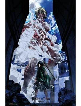 Attack On Titan Part 2 : Art   Maxi Poster 61cm X 91.5cm New And Sealed by Gb Eye
