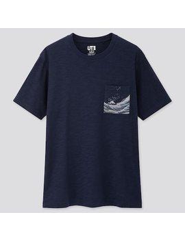 T Shirt Ut Stampa Edo Ukiyo E Uomo by Uniqlo
