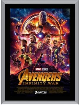 Avengers Infinity War A1 To A4 Size Poster Prints by Unbranded