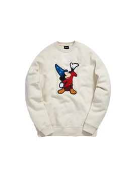 Kith X Disney 40s Fantasia Classic Logo Crewneck Turtledove by Stock X