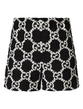 Jacquard Logo Shorts by Gucci