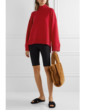 Oversized Cashmere Turtleneck Sweater by Rosetta Getty