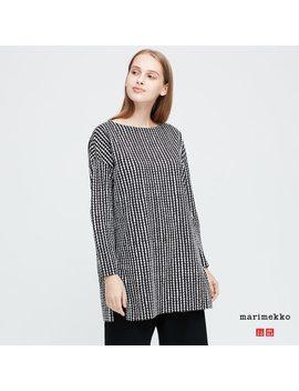 Women Marimekko Long Sleeved Tunic by Uniqlo