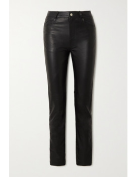 + Net Sustain Phoenix Leather Straight Leg Pants by Deadwood