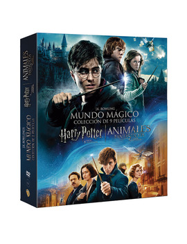 Pack Harry Potter Y Animales Fantásticos: Harry Potter: Películas1 8 + Animales Fantásticos Y Dónde Encontrarlos (Dvd) by         Noble Collection