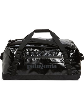 Black Hole Water Repellent 55 Liter Duffle Bag by Patagonia