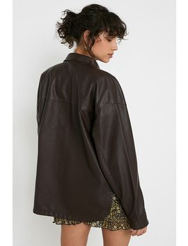 Uo   Veste Imitation Cuir by Urban Outfitters