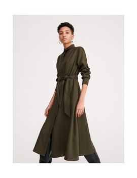 Tencel™ Shirt Dress by Reserved