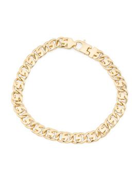 Men's Made In Italy 14k Gold Fancy Link Bracelet by Tj Maxx