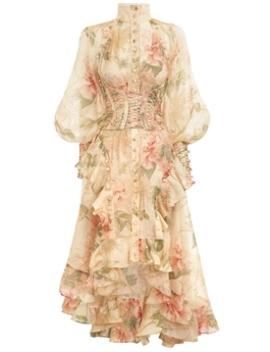 Espionage Corset Dress by Zimmermann