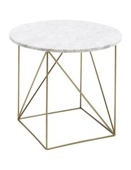 Table D'appoint Key Largo Blanche 40cm by Kare Design