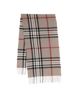 Cashmere Scarf Taupe by Fraas