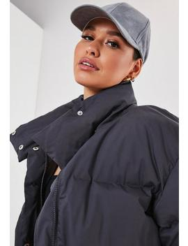 Grey Ultimate Puffer Jacket by Missguided
