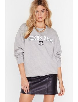 Everything's Bigger In Texas Graphic Sweatshirt by Nasty Gal