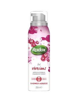Radox Feel Vivacious Shower Mousse 200ml by Radox