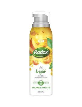 Radox Feel Bright Shower Mousse 200ml by Radox