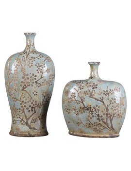 Uttermost Citrita Urns   Set Of 2 by Uttermost