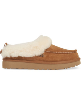 Grove Genuine Shearling Trim Slipper by Ugg®