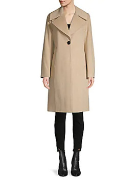 Colorblock Wool Blend Coat by Derek Lam 10 Crosby