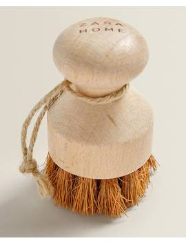 Coconut Fibre Brush For Dishes Collection   New In by Zara Home