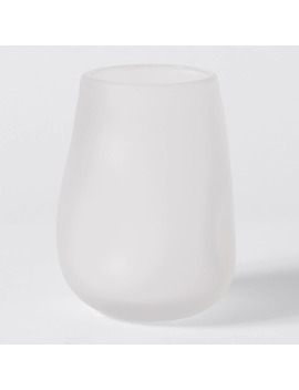 Elora Small Frosted Glass Vase by Target