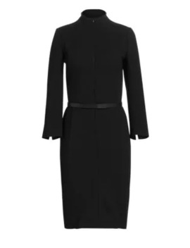 Belted Sheath Dress by Akris