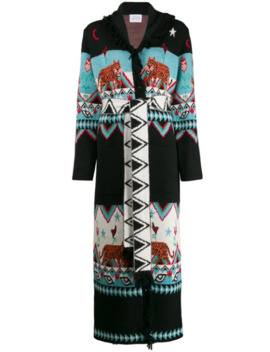 Tigress Jacquard Cardi Coat by Hayley Menzies