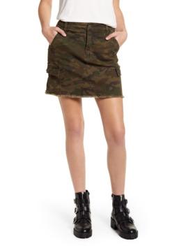 Cargo Denim Miniskirt by Bp.