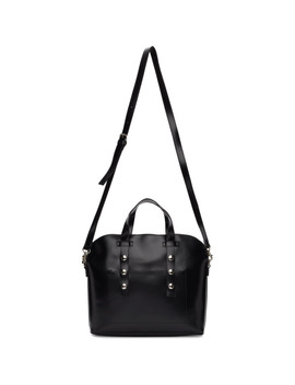 Black Synthetic Leather Small Bag by Tricot Comme Des GarÇons
