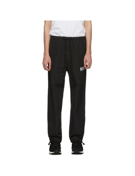 Black P Toller Ny Trousers by Diesel