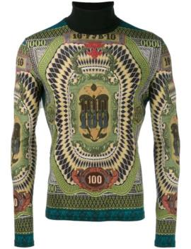 1994 Roll Neck 100 Dollar Sweater by Jean Paul Gaultier Pre Owned