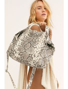 Yvonne Python Tote by Free People