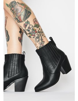 Bold Rebel Ankle Boots by Dolls Kill