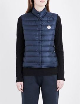 Lianne Quilted Shell Gilet by Moncler