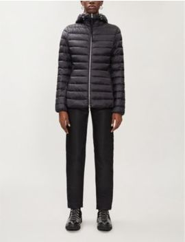Amethyste Padded Shell Down Hooded Jacket by Moncler