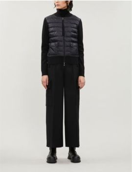 Puffer Shell Down Jacket by Moncler