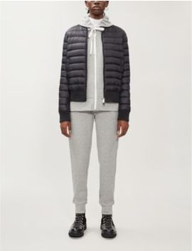 Abricot Padded Shell Down Jacket by Moncler