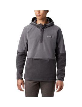 Men's Basin Trail™ 1/2 Snap Fleece Hoodie by Columbia Sportswear