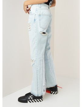 Boyfriend Jeans Met Borduring by Off White