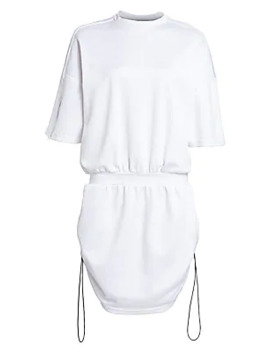 Drawcord Sweatshirt Dress by Artica Arbox