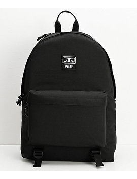 Obey Takeover Black Backpack by Obey
