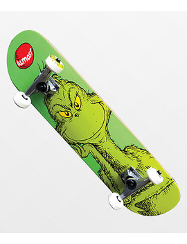 "Almost X Grinch 7.25"" Skateboard Complete by Almost"