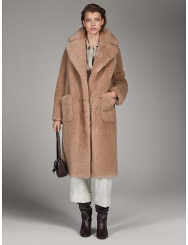 Cappotto Double Face In Pelle Limited Edition by Massimo Dutti