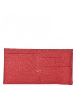 Louis Vuitton Calfskin Pochette Felicie Card Holder Insert by Louis Vuitton