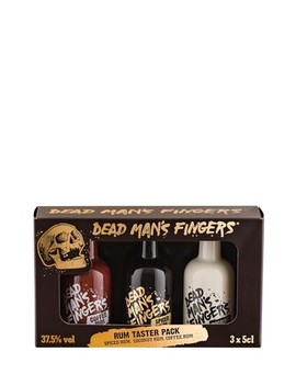 Set Of 3 Rum Gift Set By Dead Mans Fingers by Next
