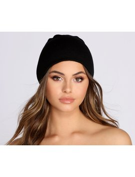 Classic Knit Beanie by Windsor