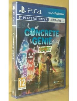 Concrete Genie Playstation 4 Ps4 New Sealed Free Uk P&P Pal Uk Stock by Ebay Seller