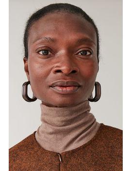 Tubular Hoop Earrings by Cos